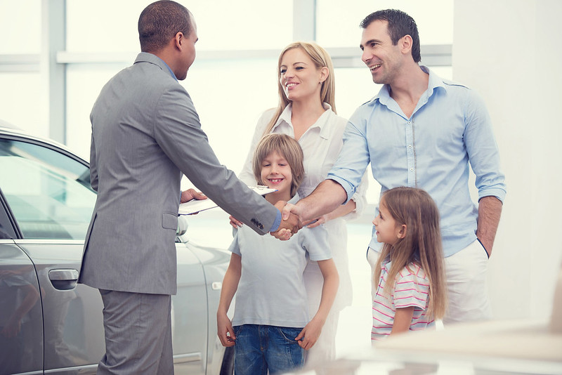 Family Buying A Car | Garland, TX